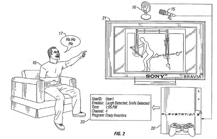 Creepy, laughter-tracking PS3 patent has us rethinking Sony's whole PlayStation Eye strategy