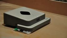 Evolution Robotics Mint bot is the Swiffer of Roombas, keeps track of its positioning