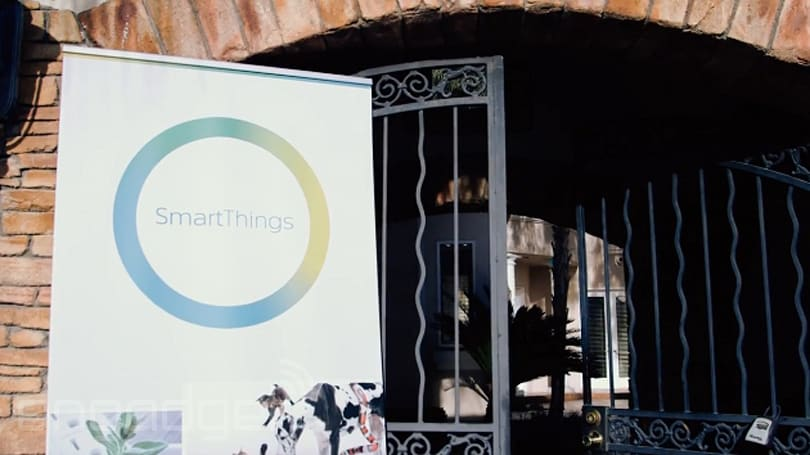 SmartThings shows off the ridiculous possibilities of its connected home system