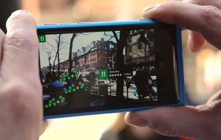 Nokia adds sight recognition to Here Maps for Windows Phone 8