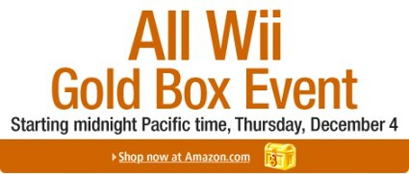Gold Box deals plus lots more Wii discounts at Amazon [update 7]