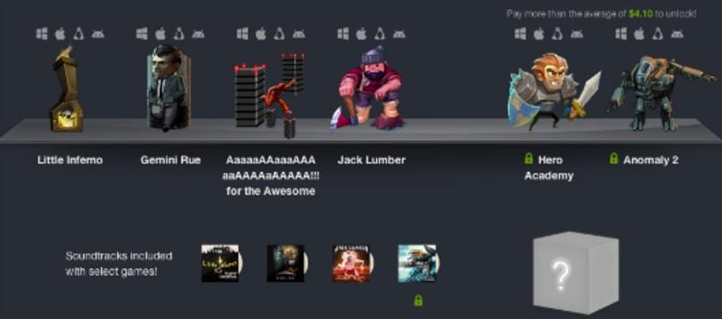 Humble Bundle 8: Jack Lumber, Aaaaa!!!, Little Inferno, Gemini Rue