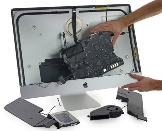 iFixit takes a peek inside Apple's new '5K' iMac