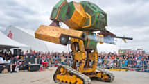Watch what it takes to build a 350HP combat robot right here