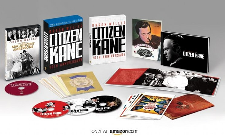 Citizen Kane Blu-ray up for preorder on Amazon