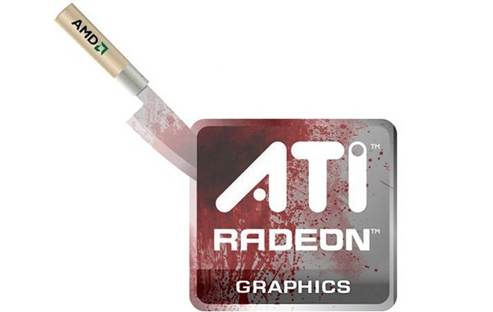 AMD kills ATI brand, you can look forward to blood-stained Radeons