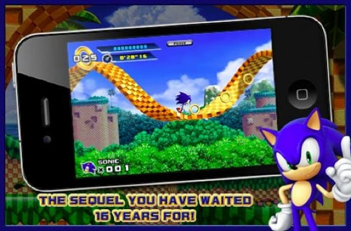 Sonic the Hedgehog 4 Episode 1 now out on iPhone
