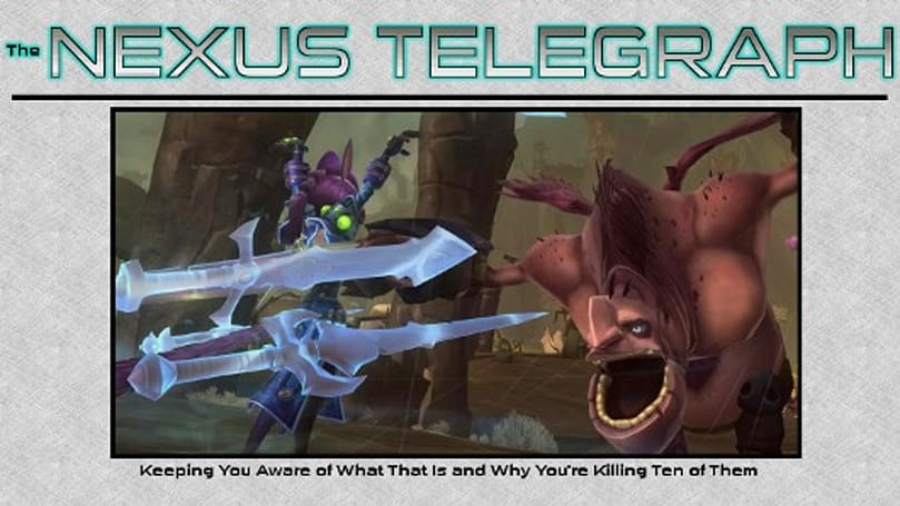 The Nexus Telegraph: Let's hear it for the tweet-quest