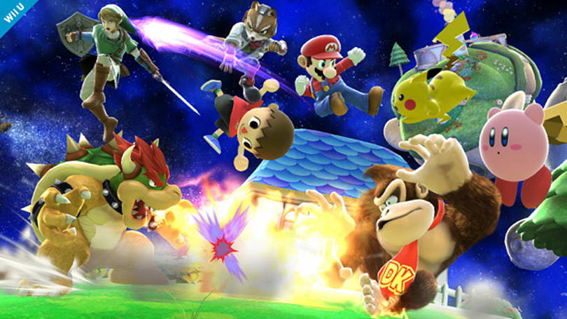 Nintendo to introduce digital pre-loads with Super Smash Bros. for Wii U