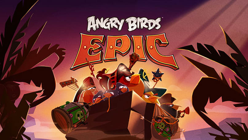 Forging weapons upstages fowl flinging in the new Angry Birds Epic RPG