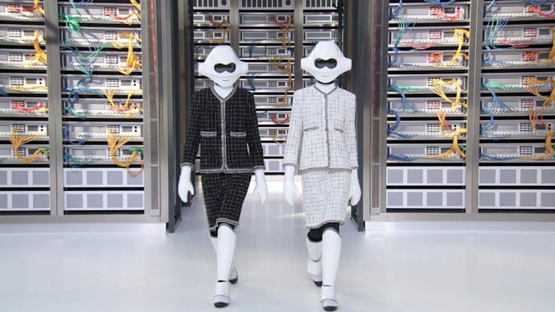 Caption Contest: Chanel and the art of Robocouture