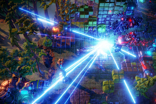 The follow-up to 'Resogun' is a Hail Mary for arcade shooters