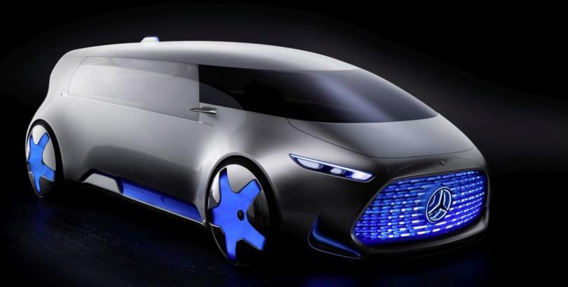 Mercedes Vision Tokyo Concept is a minivan for millennials