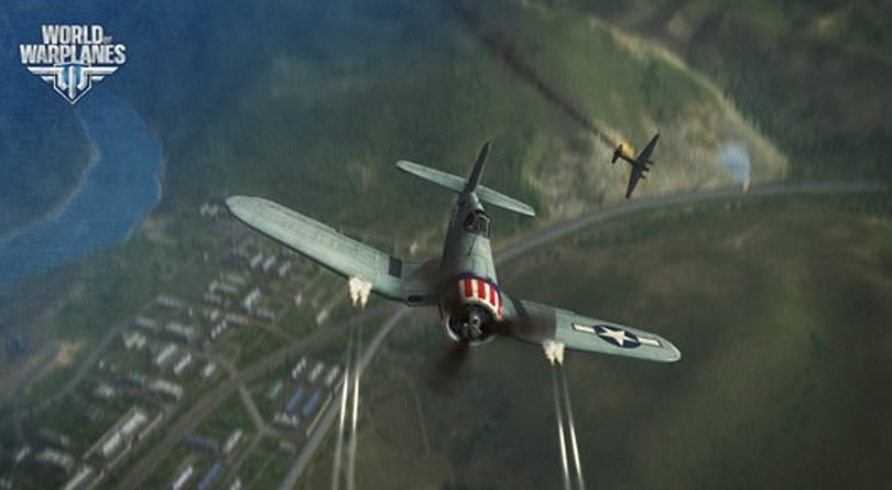New World of Warplanes video features carrier-based fighters