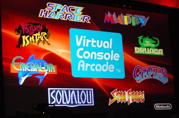 GDC09: Virtual Console Arcade launches with 4 games, available now