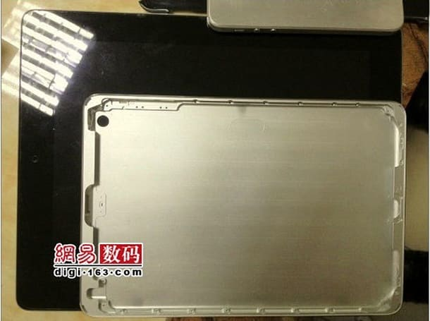 Claimed iPad mini shell reappears, now with more rear camera and less Mr. Blurrycam