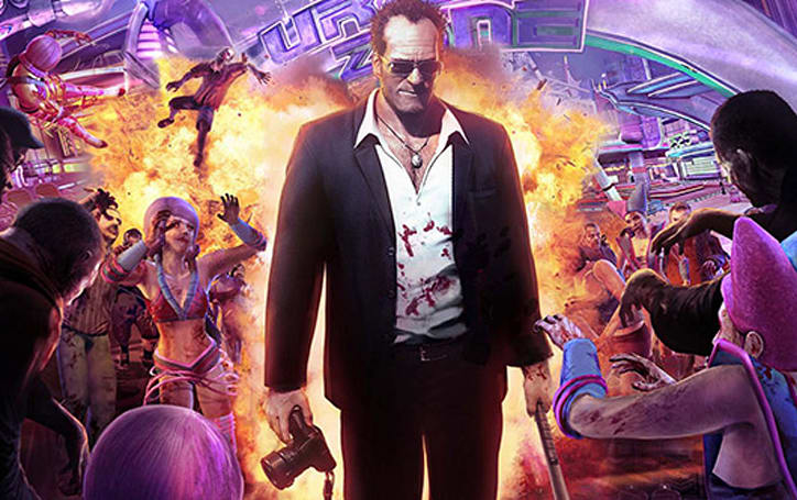 Rob Riggle cast as Frank West in Dead Rising: Watchtower