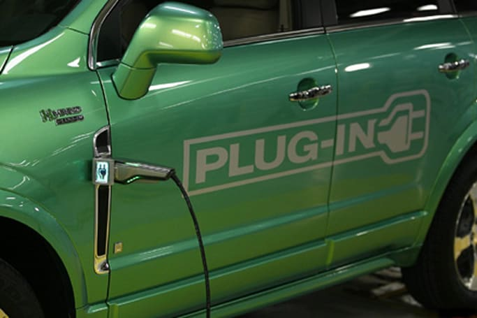 Saturn aims for 2010 with plug-in hybrid Vue Green Line -- take that, Toyota