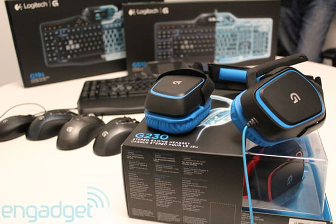 Logitech rebrands gaming line with same name, announces bounty of peripherals