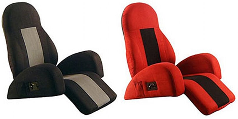 The iRocker chair with built-in iPod dock