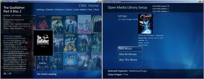 Open Media Library beta available, easy access to DVD rips via extenders for all