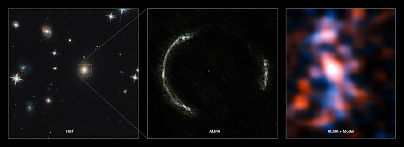 Here's your clearest view yet of star formation in the early universe