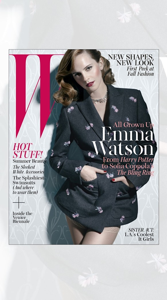 Emma Watson is All Grown Up on the Cover of W Magazine