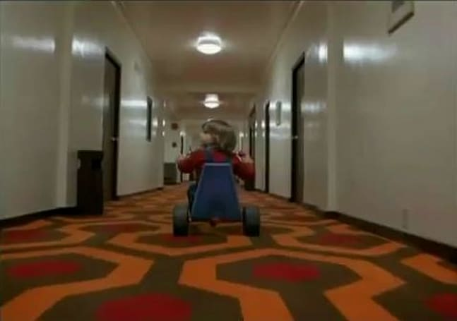 Duke Nukem finally figures out what's wrong in The Shining's Overlook Hotel