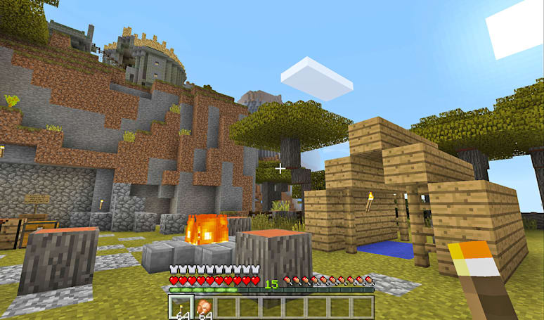 'Minecraft' for Apple TV arrives today