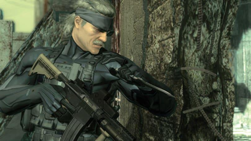 Old man Snake goes digital in Metal Gear Solid 4 re-release