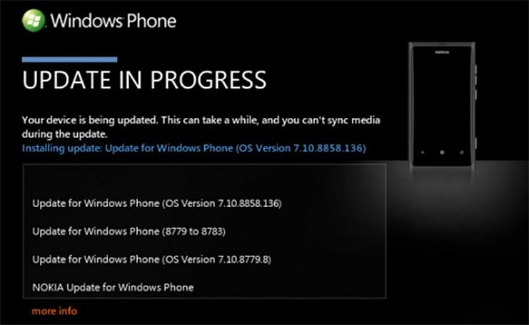 Nokia Lumia 800 gets first taste of Windows Phone 7.8