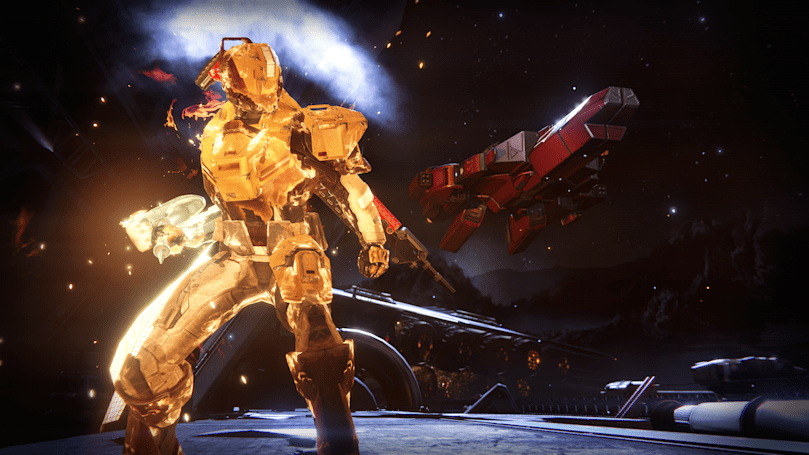 Playdate: taking on The Taken King in 'Destiny'