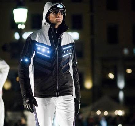 Bogner S Solar Powered Ski Suit From Space