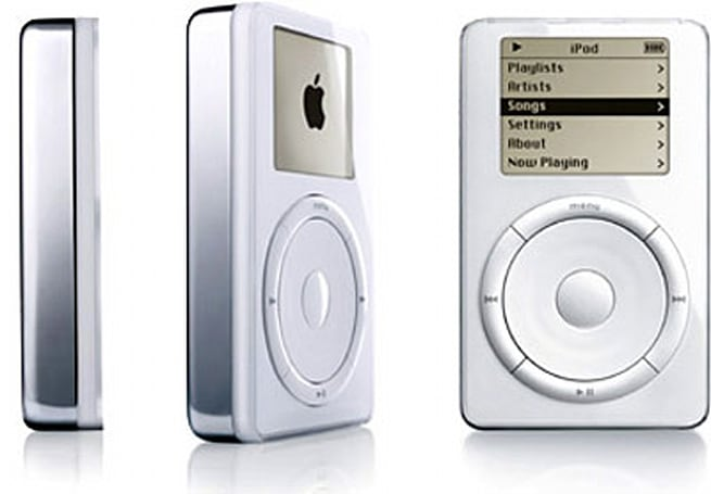 The iPod first went on sale 12 years ago