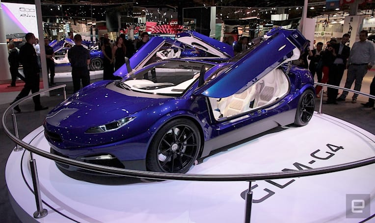 GLM unveils its exotic electric G4 concept car