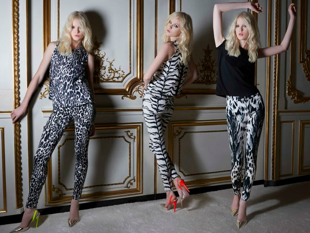 The 7 For All Mankind and Giambattista Valli capsule collection is one unexpectedly awesome combo