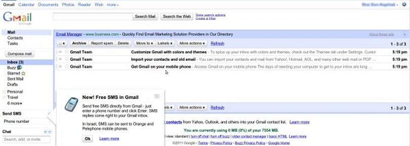 Google restores Gmail access to one-third of affected users