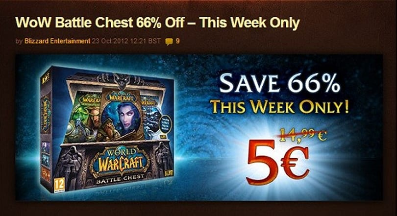 66% off the Battle Chest this week only!