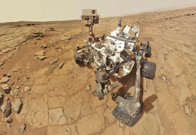 Curiosity rover can shoot lasers at any rock it wants