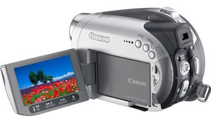 Canon's iVIS DC22 DVD camcorder