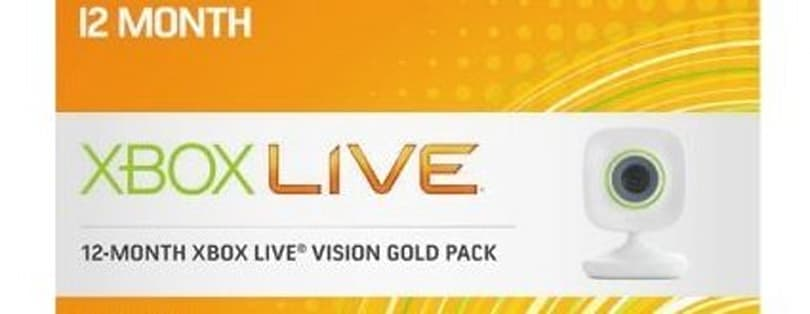 Xbox Live 12 month Vision pack for $66