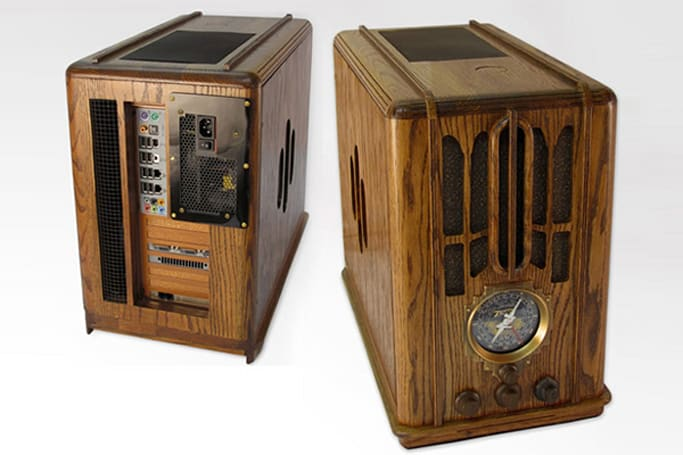 Zenith 5-S-29 radio case mod explained in excellent, water-cooled detail