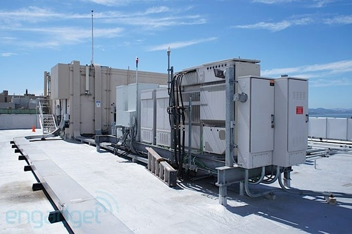 Sprint testing LTE cell sites in San Francisco, we pay one a visit