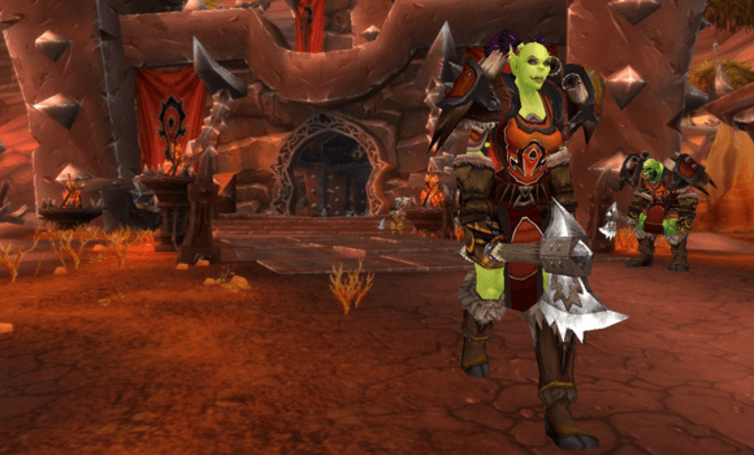 Remixing an Orgrimmar Guard transmogrification