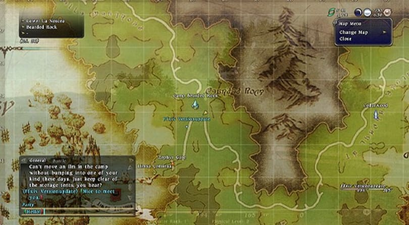 A look at the updated UI for Final Fantasy XIV