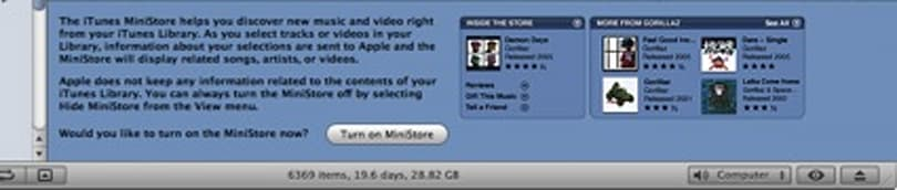Apple pushing the MiniStore with iTunes 7