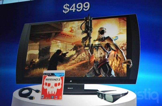 Sony introduces PlayStation-branded 3D display, glasses