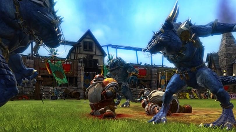 THQ publishing Blood Bowl in the UK