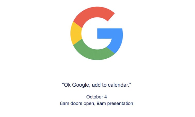 Google's likely Pixel phone event is happening October 4th