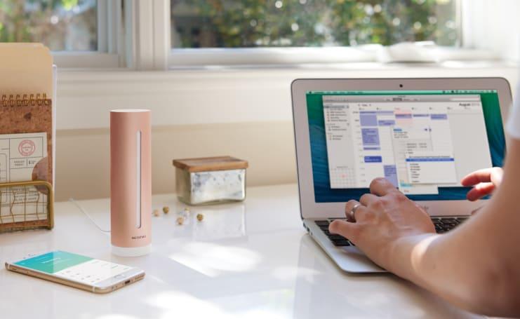 Netatmo's home monitor tracks air quality, humidity and more